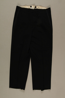 2006.19.44 front Formal trousers with tuxedo trim owned by a German Jewish businessman in Shanghai  Click to enlarge