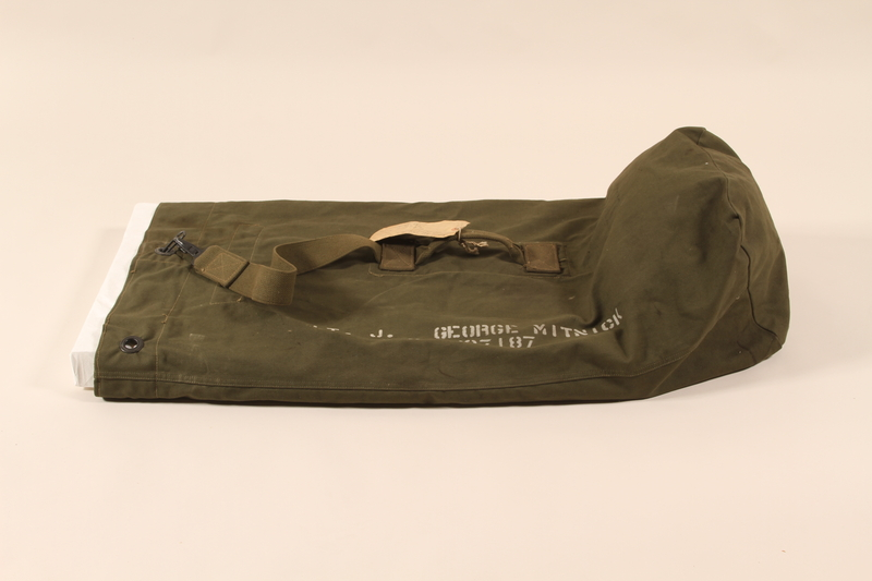 2006.11.15 back US Army duffel bag used by a soldier