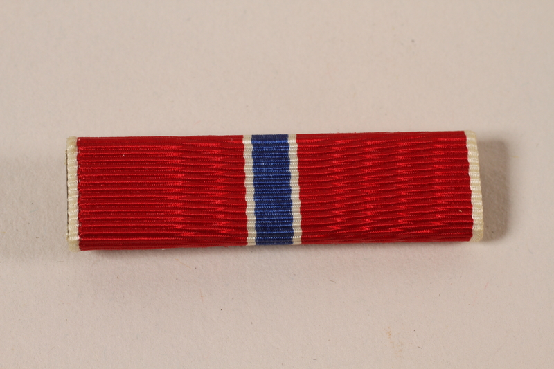 2006.11.30 front US Army Bronze Star ribbon bar pin awarded to a Jewish soldier