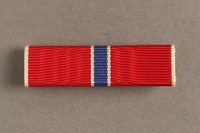 2006.11.30 front US Army Bronze Star ribbon bar pin awarded to a Jewish soldier  Click to enlarge
