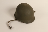 2006.11.31 front US Army M1 combat helmet worn by a Jewish soldier  Click to enlarge