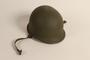 US Army M1 combat helmet worn by a Jewish soldier