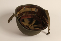2006.11.31 bottom US Army M1 combat helmet worn by a Jewish soldier  Click to enlarge