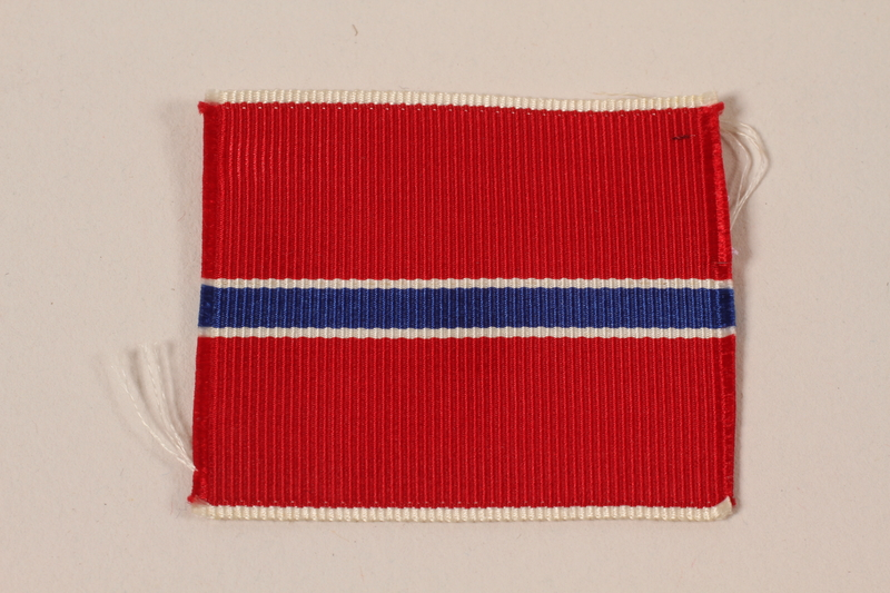 2006.11.41 front US Army Bronze Star ribbon awarded to Captain J.G. Mitnick