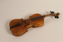 Childsize violin and case of a young Jewish Lithuanian boy killed in the Ponary massacre
