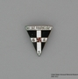 Nazi Party Women's Order of the Red Swastika lapel pin