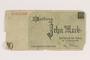 Łódź (Litzmannstadt) ghetto scrip, 10 mark note