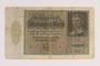 Weimar Germany Reichsbanknote, 10,000 marks