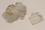 Two pieces of mica from a forced laborer in a glimmer factory [mica]