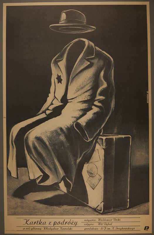 2007.351.4 front Poster for a postwar Polish film