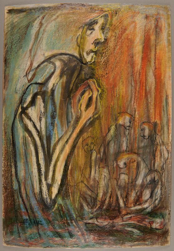 2001.122.123 front Halina Olomucki painting