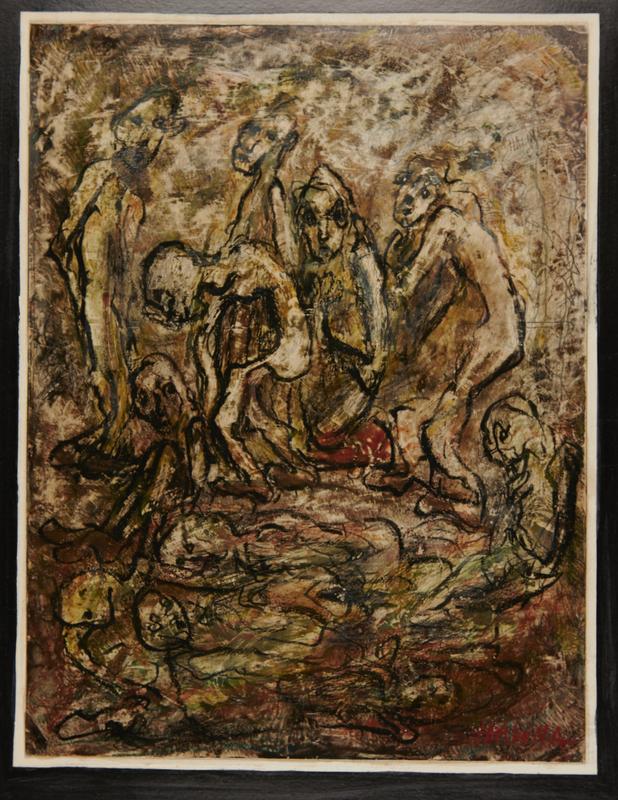 2001.122.120 front Halina Olomucki painting