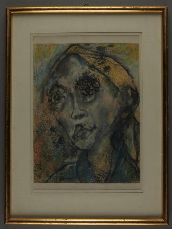 2001.122.226 front Halina Olomucki painting