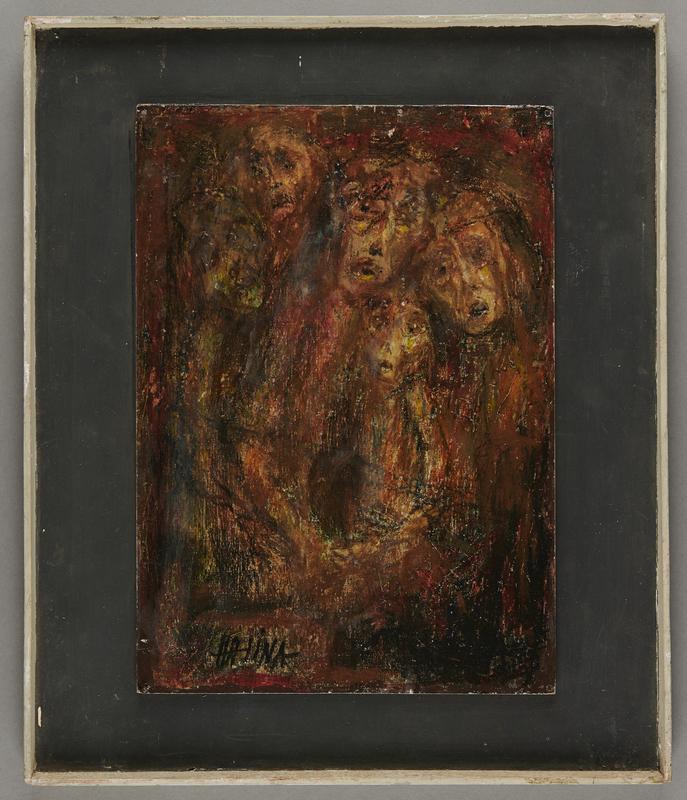 2001.122.227 front Halina Olomucki painting