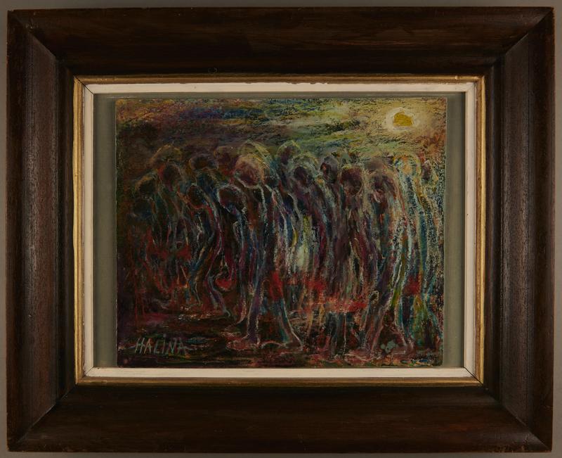 2001.122.277 front Halina Olomucki painting