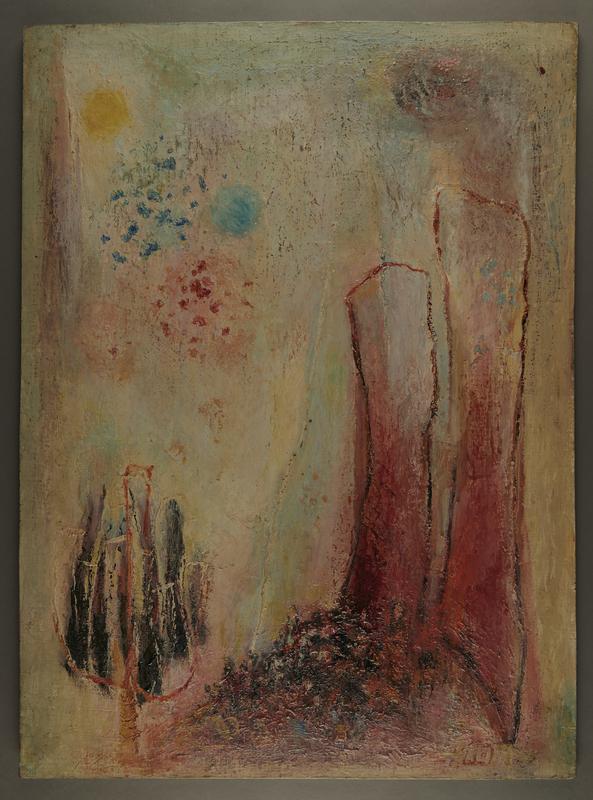 2001.122.255 front Halina Olomucki painting