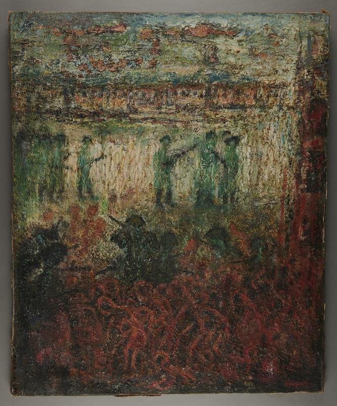 2001.122.250 front Halina Olomucki painting