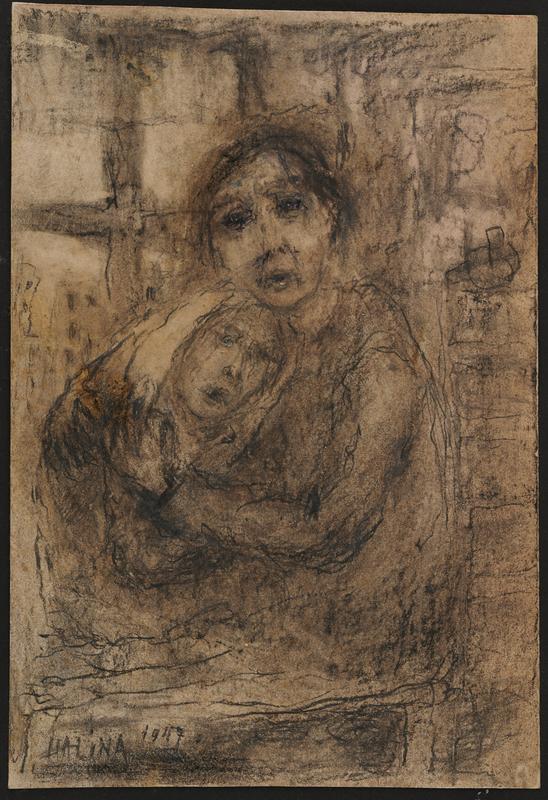 2001.122.294.6 front Halina Olomucki drawing