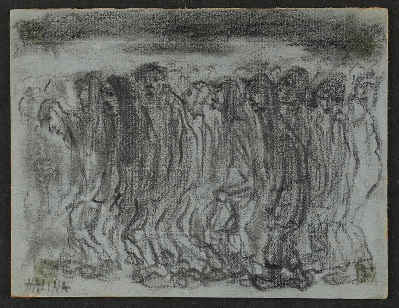 2001.122.296.2 front Halina Olomucki drawing