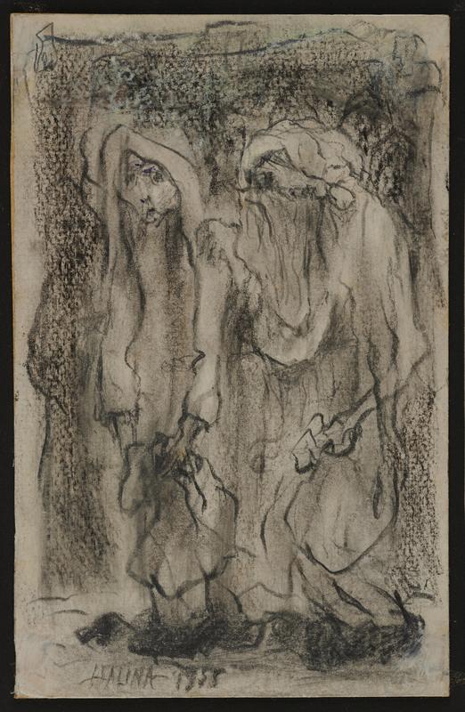 2001.122.296.6 front Halina Olomucki drawing