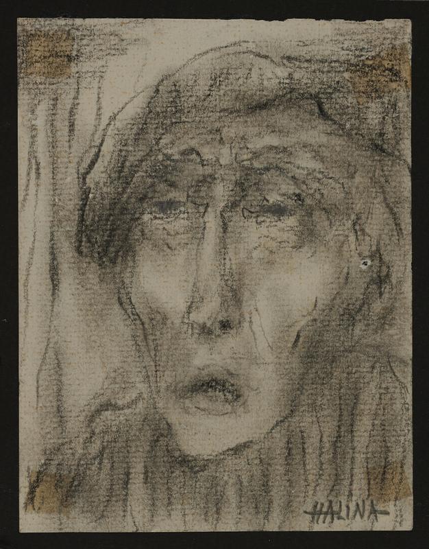 2001.122.296.7 front Halina Olomucki drawing