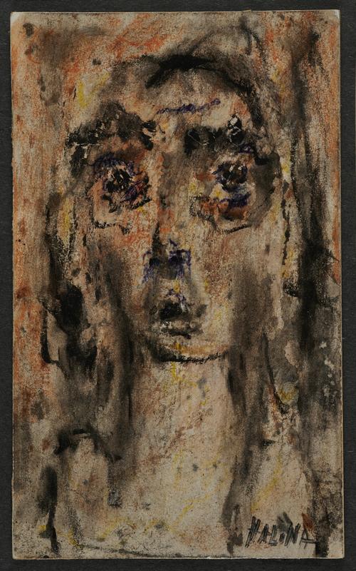 2001.122.297.5 front Halina Olomucki drawing