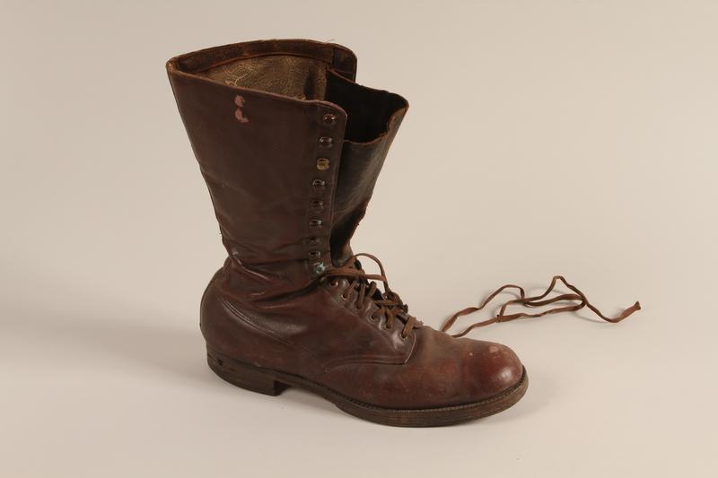2001.258.7 a front SA uniform boots