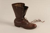 2001.258.7 a front SA uniform boots  Click to enlarge