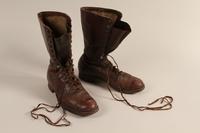 2001.258.7 a-b front SA uniform boots  Click to enlarge
