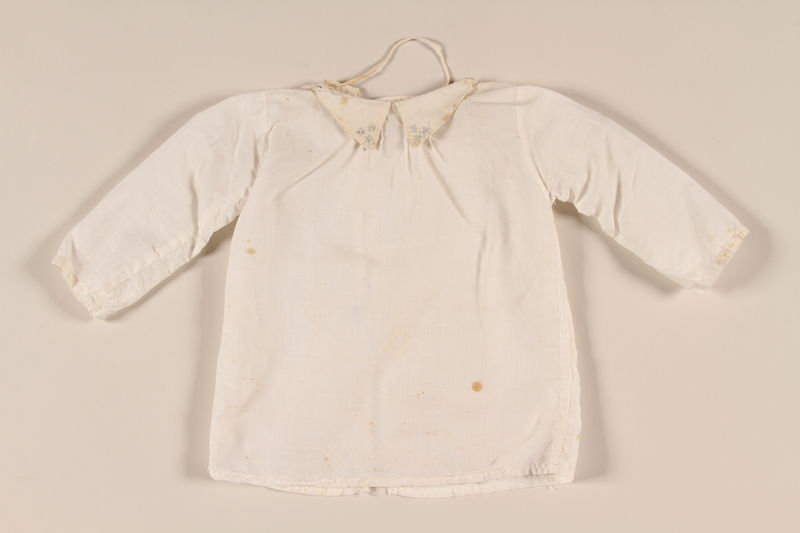 2001.268.1 front Baby's shirt
