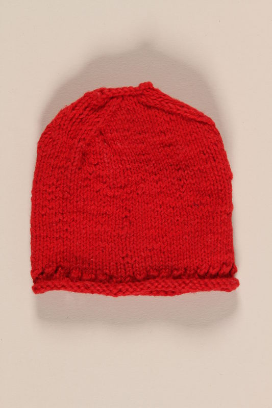 2002.57.6 front Doll hat