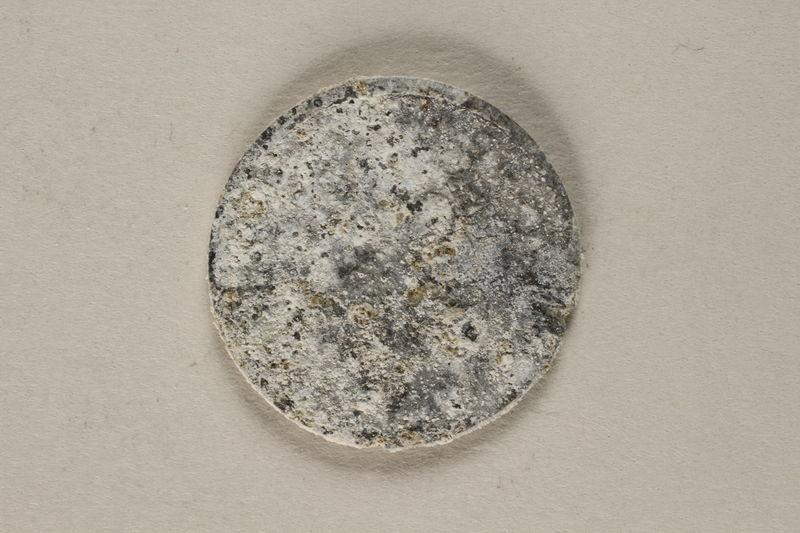 2002.58.4 back Łódź (Litmannstadt) ghetto scrip, coin