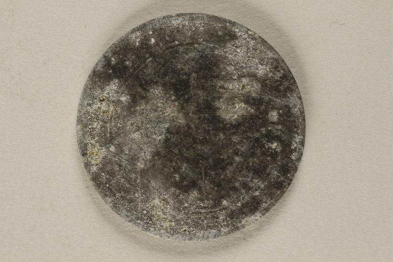2002.58.5 front Lodz (Litzmannstadt) ghetto scrip, 10 mark coin