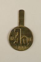 2002.178.2 front Nazi Party badge issued for the 1933 election  Click to enlarge