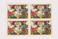 2002.185.5 front Postage stamps  Click to enlarge