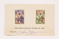 2002.185.9.1 front Postage stamps  Click to enlarge