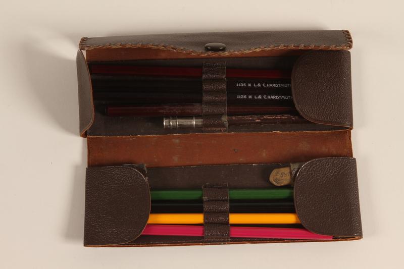 2000.497.2 open Pencil box