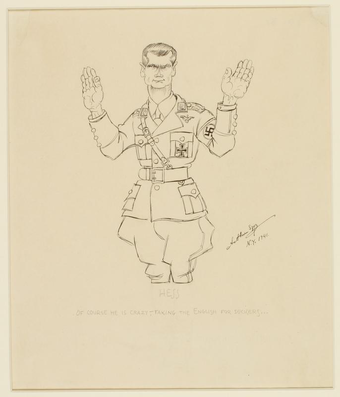 CM_1995.40.8 front Arthur Szyk drawing