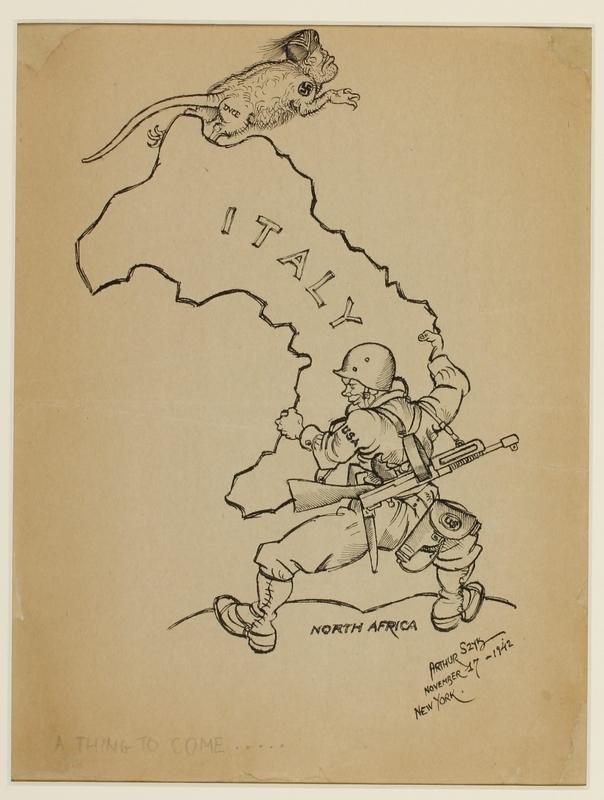 CM_1995.40.10 front Arthur Szyk drawing