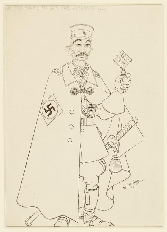 CM_1995.40.13 front Arthur Szyk drawing