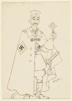CM_1995.40.13 front Arthur Szyk drawing  Click to enlarge
