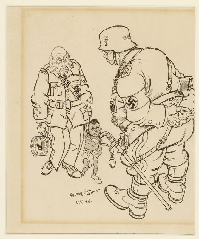 CM_1995.40.14 front Arthur Szyk drawing