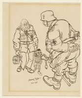 CM_1995.40.14 front Arthur Szyk drawing  Click to enlarge