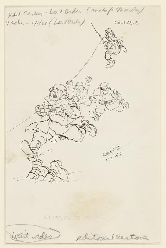 CM_1995.40.16_a front Arthur Szyk drawing