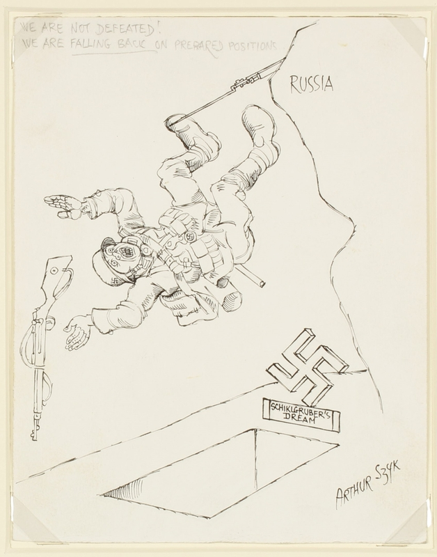 CM_1995.40.19 front Arthur Szyk drawing