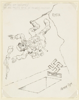 CM_1995.40.19 front Arthur Szyk drawing  Click to enlarge
