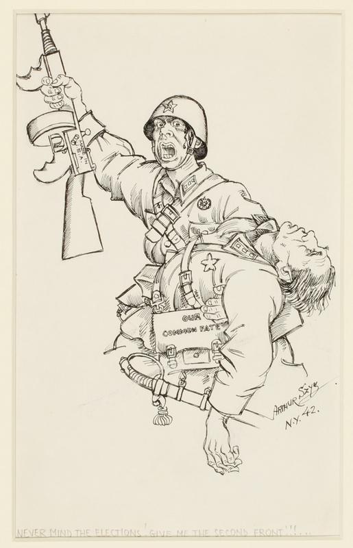 CM_1995.40.20 front Arthur Szyk drawing