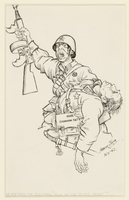 CM_1995.40.20 front Arthur Szyk drawing  Click to enlarge