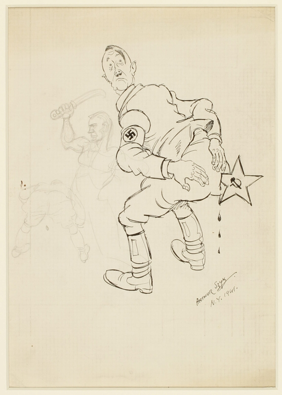 CM_1995.40.23 front Arthur Szyk drawing
