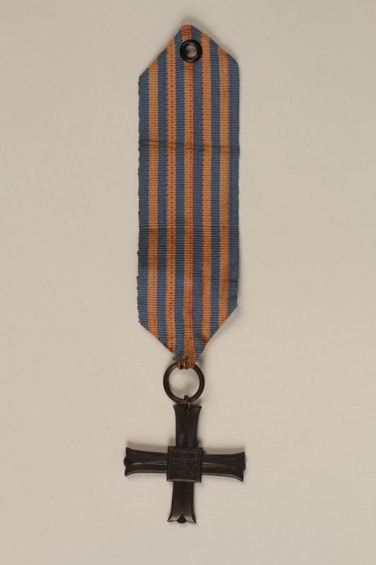 2000.226.2 front Monte Cassino Commemorative Cross
